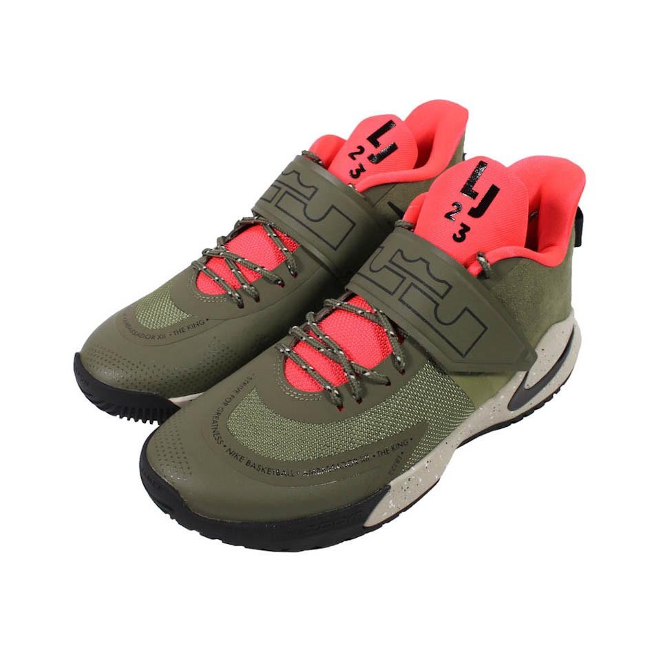 Nike Ambassador XII 男款 籃球鞋 綠黑 BQ5436-300