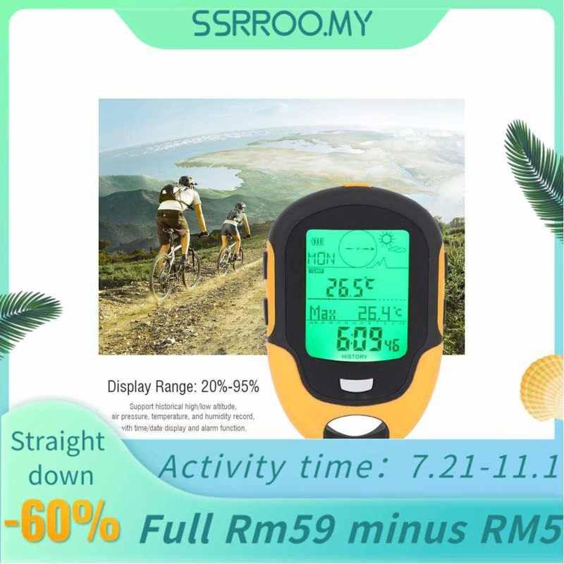 Ssrroo FR500戶外多功能汽車高度計氣壓計溫度計指南針