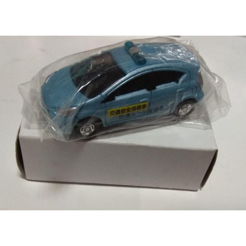 Tomica 交通安全 指導車 Toyota AQUA ( 此台為 安全車輛組 盒裝車組 拆賣 )如圖片