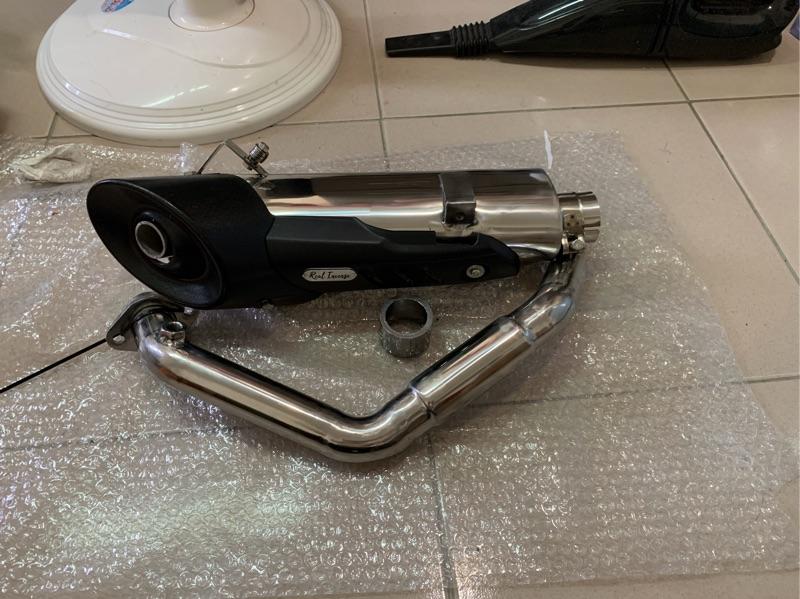 Cb300r 全段 底排 底部排氣管 側排 改裝 手工 Real lncense 真香!