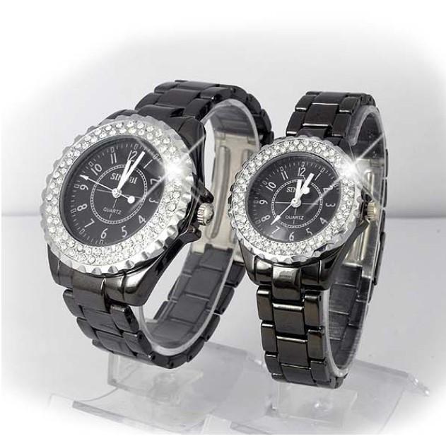 【0023F】機械精工 甜蜜雙人對錶『愛的雪天使錶』情侶對錶手錶男錶女表.單支價 惡南宅急店