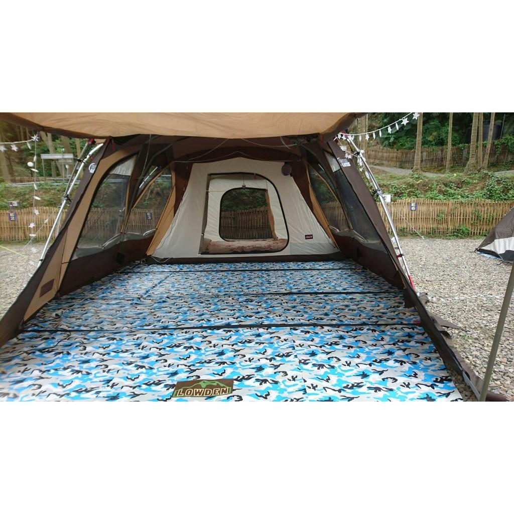 Coleman 22112 STD 二件式 防水耐磨地墊(含客廳區和寢室區)