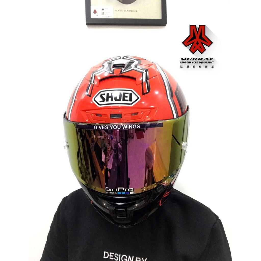shoei x14紅螞蟻全盔shoei頭盔紅螞蟻93號馬奎斯全盔全覆式安全帽