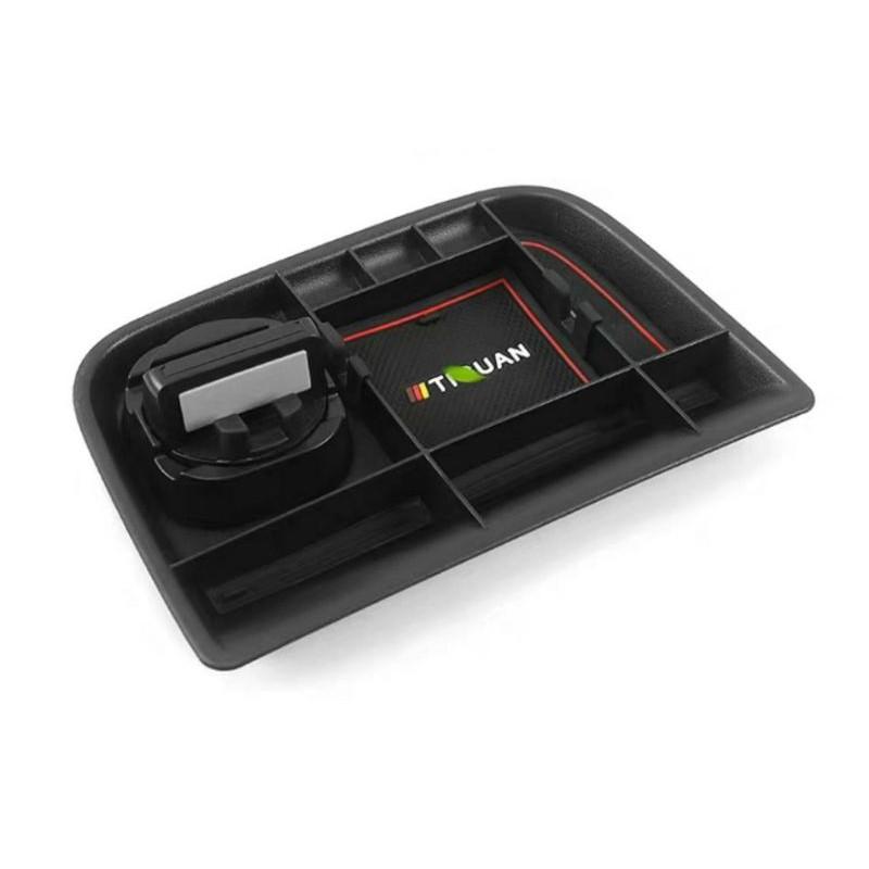 VW 福斯 Tiguan(10-15) 儀表板前方儲物盒 置物盒