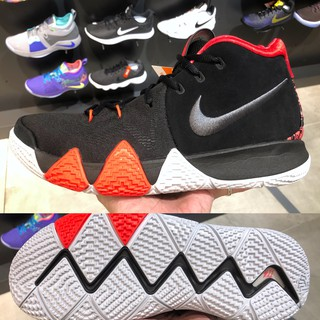 official photos dcff3 4c2d4 Nike Kyrie 4 EP 41 For The Ages 黑 橘紅 943807-005 US 8~11 XDR