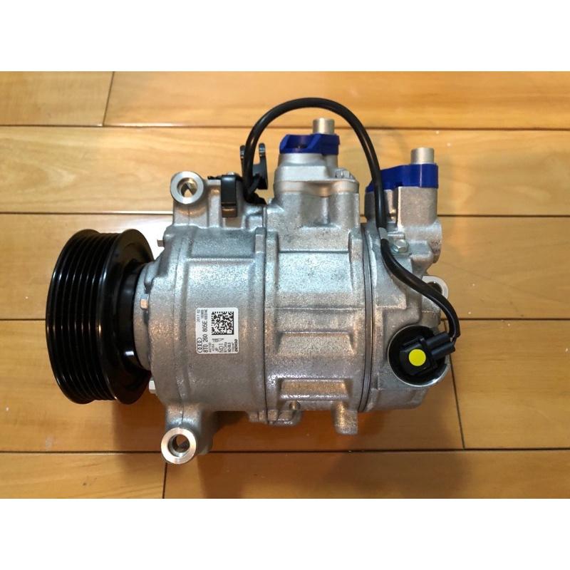 全新 Audi奧迪 Q7 3.0TDI、VW Phaeton/Touareg 3.0TDI 柴油 原廠冷氣壓縮機 6PK