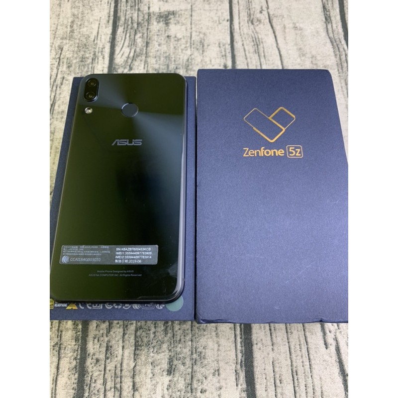 秒殺款-先誠實在成交 [型號]: ASUS Zenfone 5z (128G)