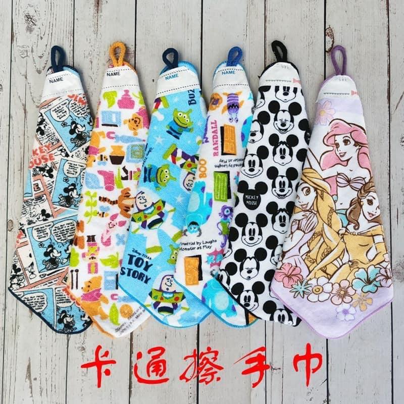 可掛式純棉加厚兒童吸水擦手巾(現貨)