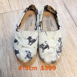 TOMS貓咪女童鞋#15 台中市