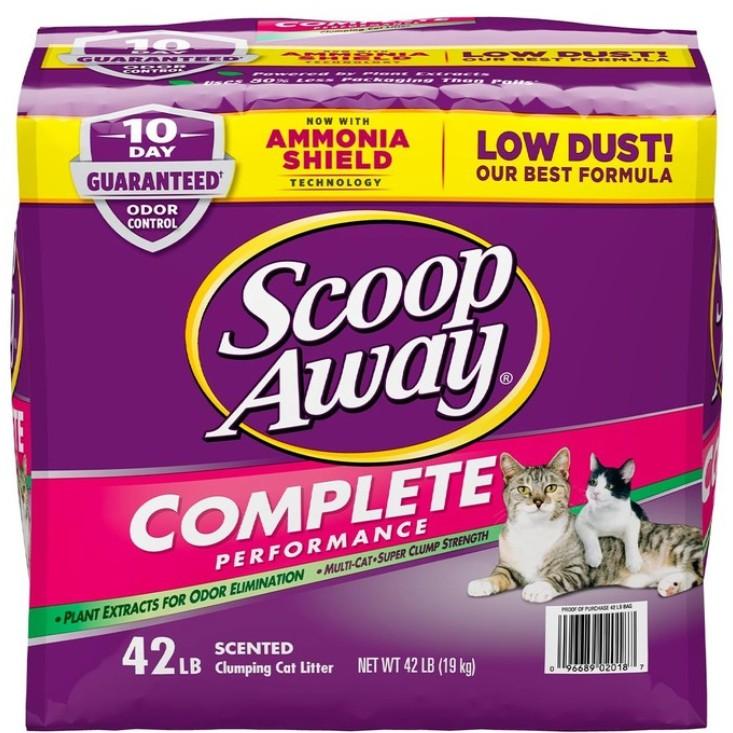 Scoop Away 超凝結貓砂 貓砂 19公斤 42磅 宅配 好市多 Costco 代購 含發票
