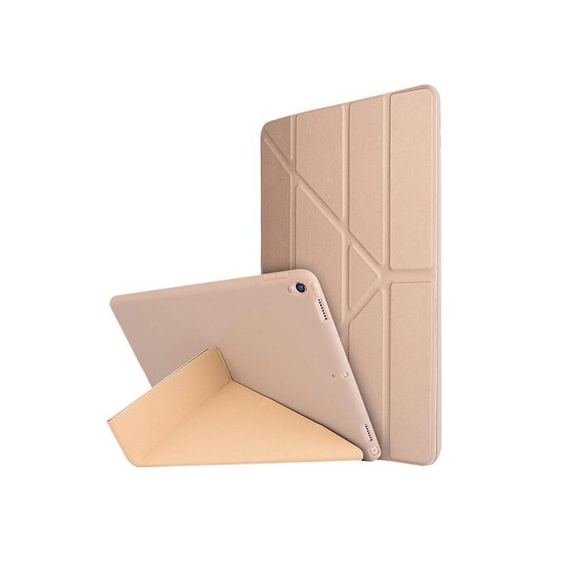 硅膠保護套 適用於iPad 7 Pro11 10.2 10.5 吋 AIR 3 4 保護套 Y型 保護殼 睡眠皮套摺疊殼