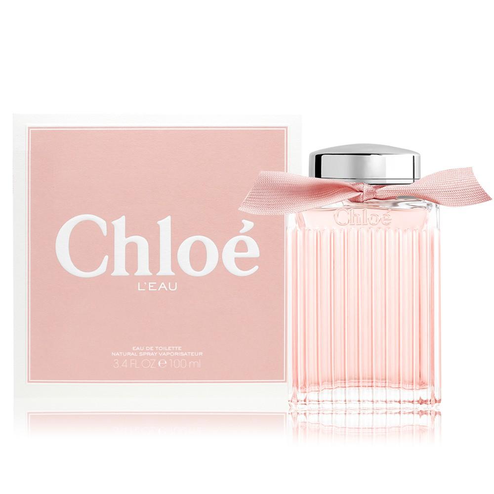 Chloe' L'EAU 粉漾玫瑰女性淡香水(100ml) EDT-(公司貨) 廠商直送 現貨