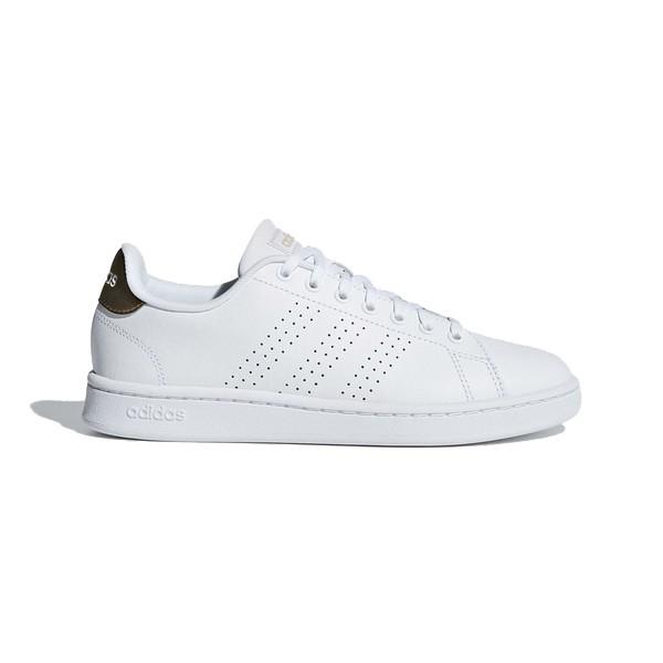 【ADIDAS】ADVANTAGE 休閒鞋 NEO 小白鞋 金 女鞋 - F36223