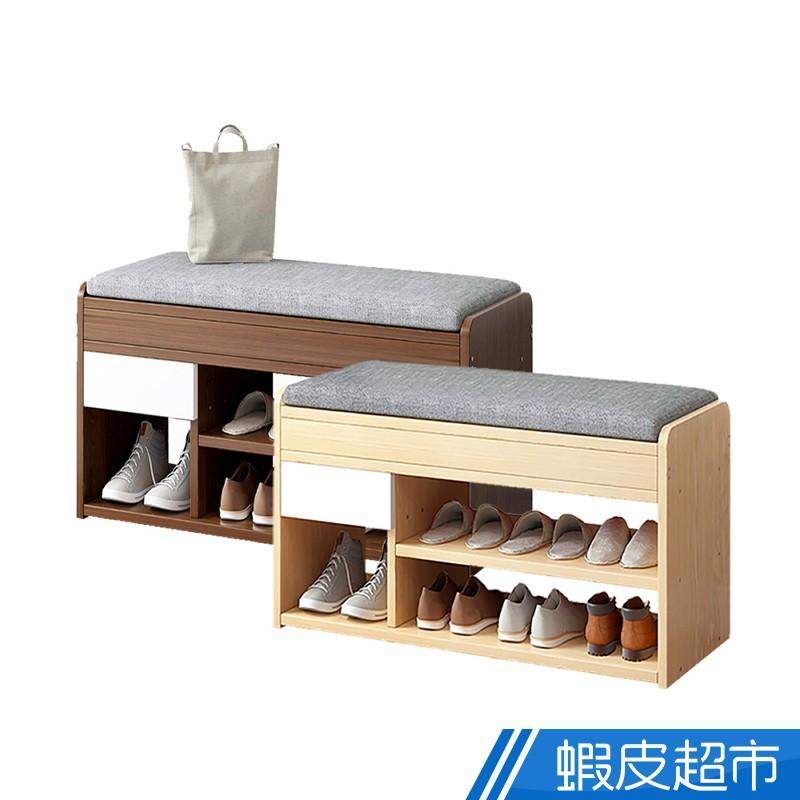 慢慢家具 多功能掀蓋儲物鞋櫃穿鞋椅 (W80xD30xH42cm)收納 穿鞋椅 免運費 廠商直送 現貨