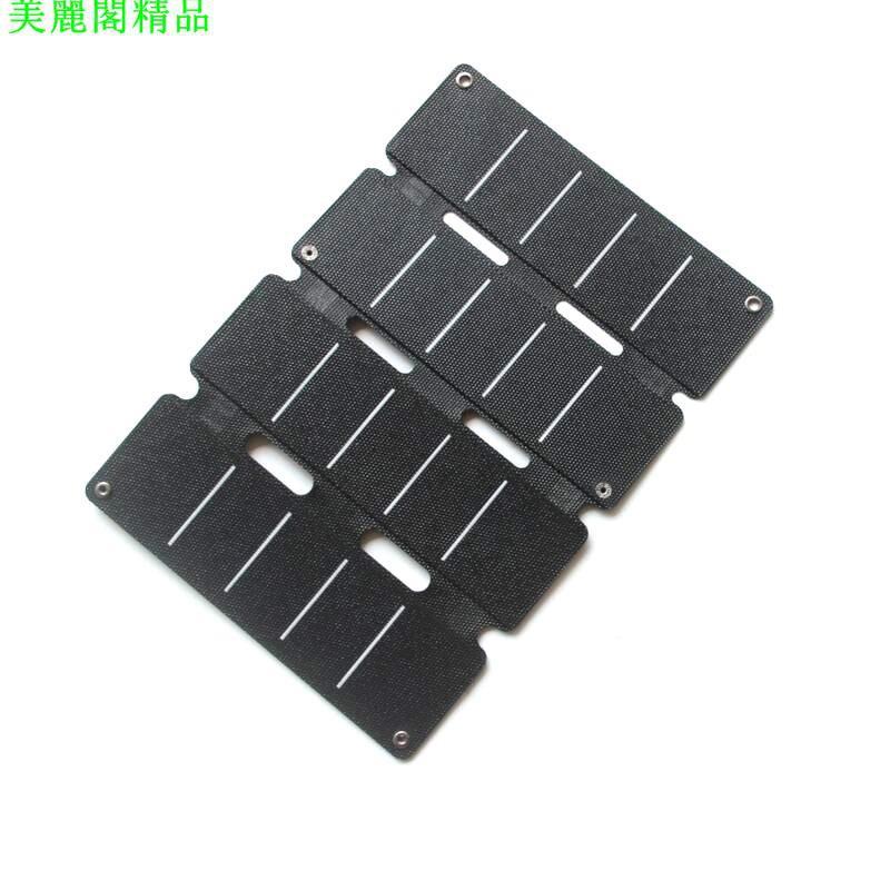 熱銷#新款14W 5V太陽能充電器 Sunpower 充電板 折疊包 ETFE 雙USB輸出*