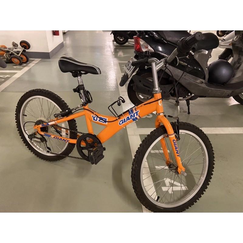 二手 捷安特 YJ251 20吋 自行車 腳踏車 人力車 限自取