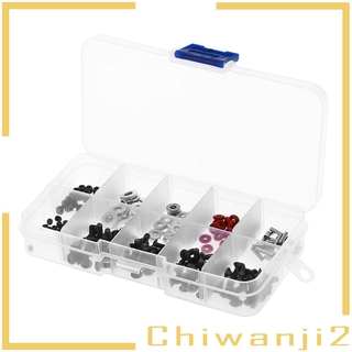 [CHIWANJI2] 200x Universal Metal RC Car Screws Kit for 1/ 10