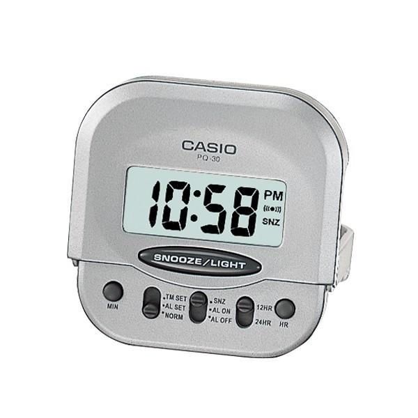 【CASIO卡西歐】簡約鬧鐘系列/PQ-30-8