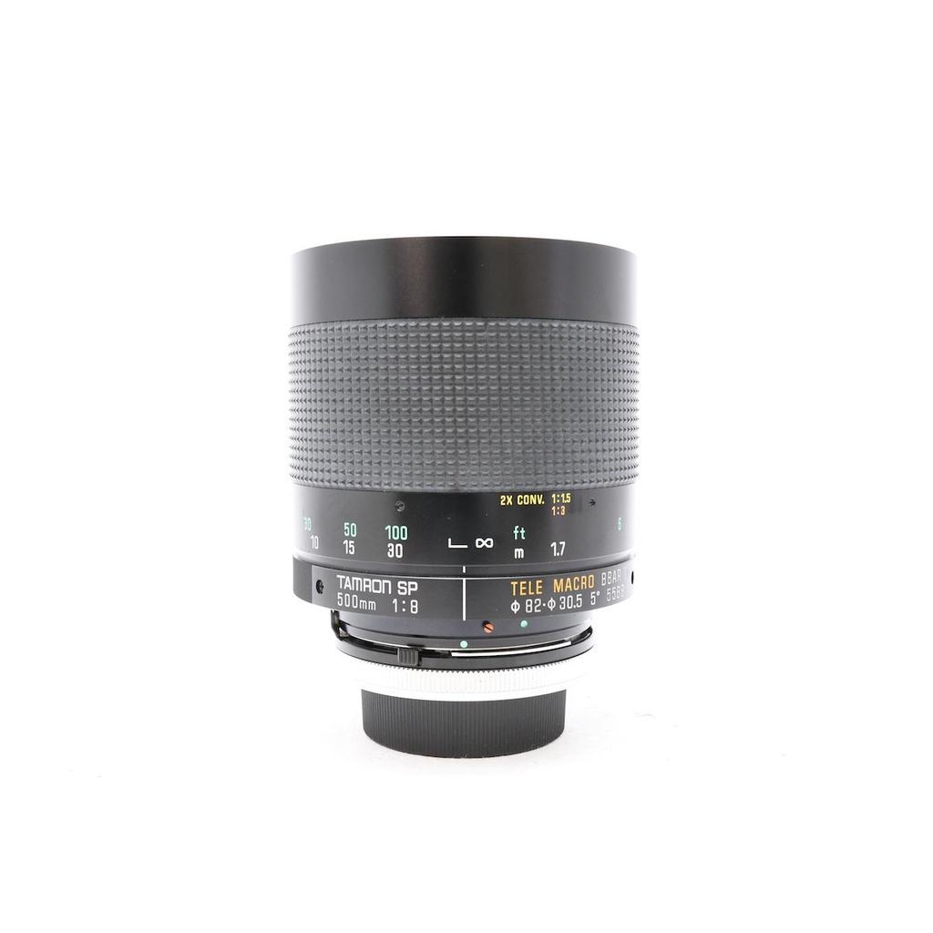 騰龍 TAMRON SP 500mm F8 Reflex 55BB MC反射鏡 甜甜圈散景 佳能FD接環 (三個月保固)