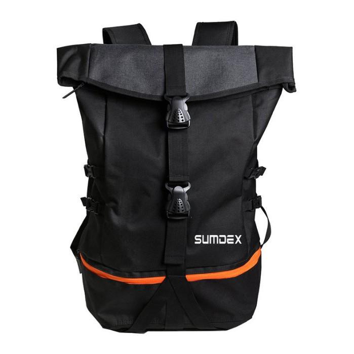 加賀皮件 SUMDEX 巨無霸 運動包 登山包 15.6吋 筆電背包 球包 後背包 黑色 TX1720