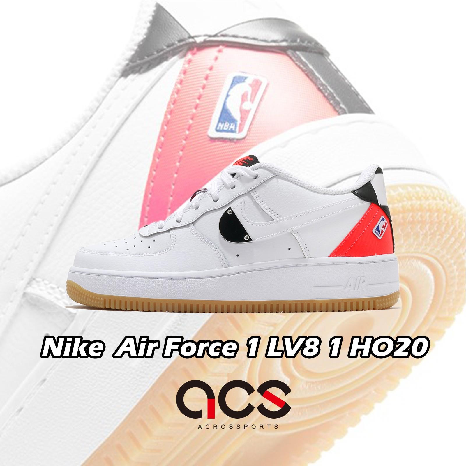 Nike Air Force 1 LV8 GS 白 銀 粉紅 金屬 小白鞋 女鞋 NBA【ACS】 CT3842-101
