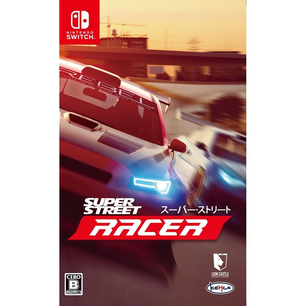 任天堂 Switch遊戲《超級街道賽 Super Street: Racer》日版 (支援中文)