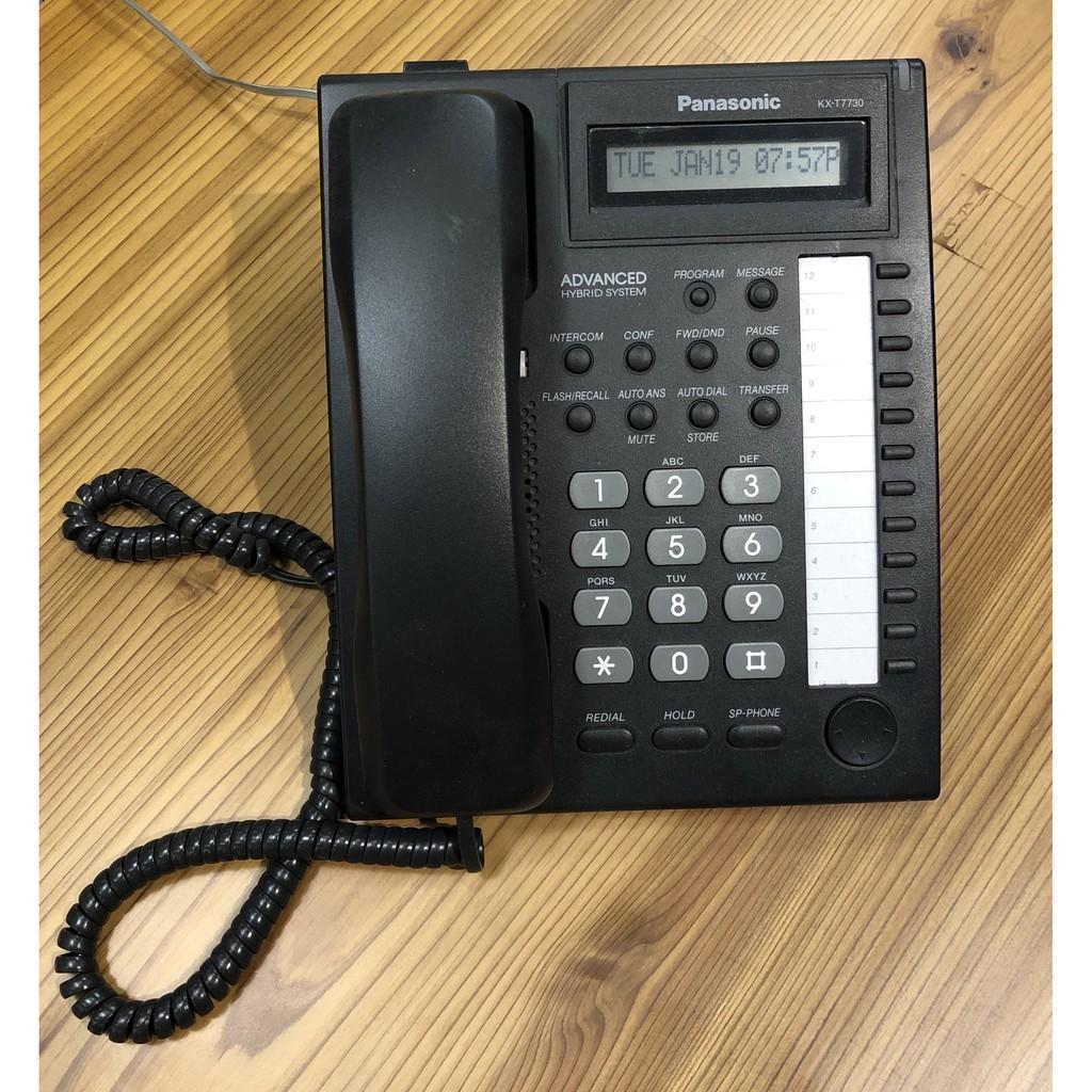 Panasonic國際牌  電話總機+電話機+自動語音 (二手) 狀況佳