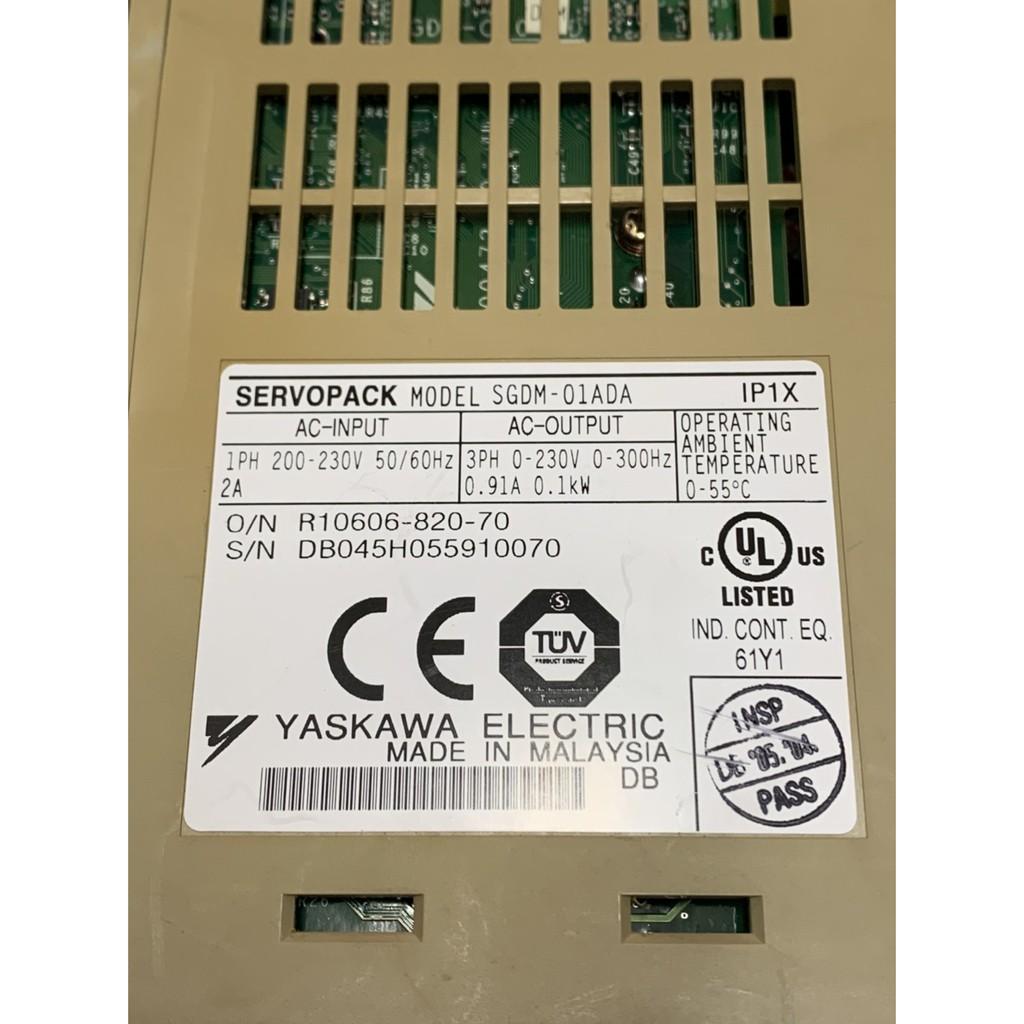 安川伺服驅動器銷售-SGDM-01ADA、SGDM-02ADA、SGDM-02ADAY90(中古良品)