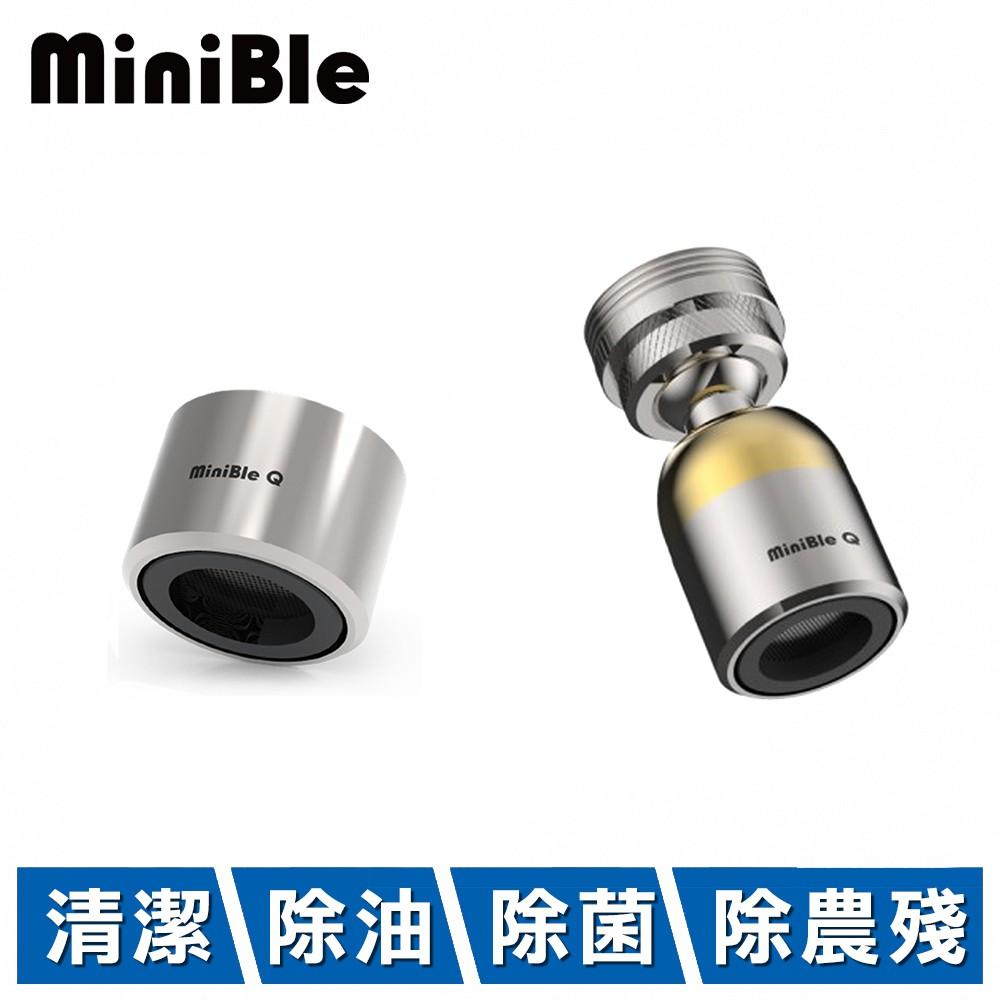 HerherS 和荷 MiniBle Q 1+1組合 轉向版 1入 +  M22內牙版 1入 (微氣泡起波器)