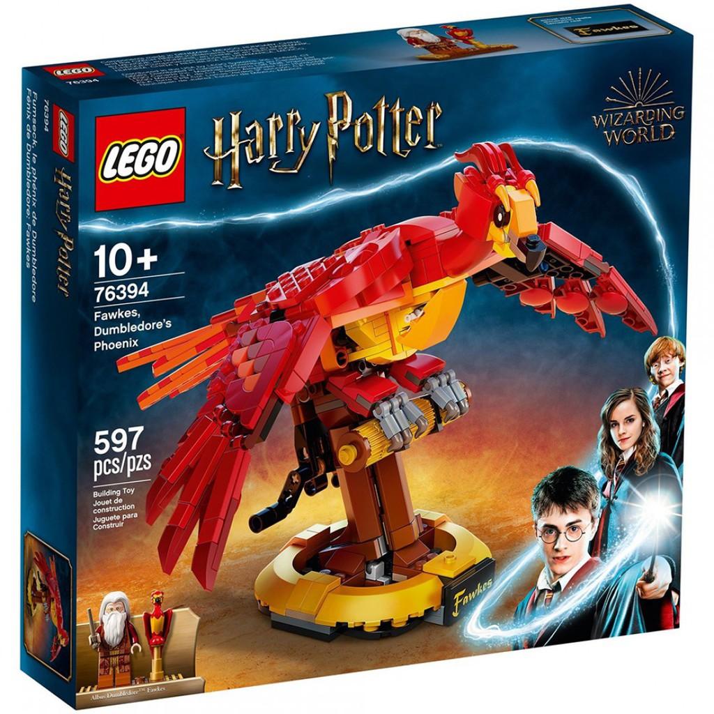 【LEGOVA樂高娃】LEGO 樂高 Harry Potter 76394 鄧不利多的鳳凰佛客使 下標前請詢問