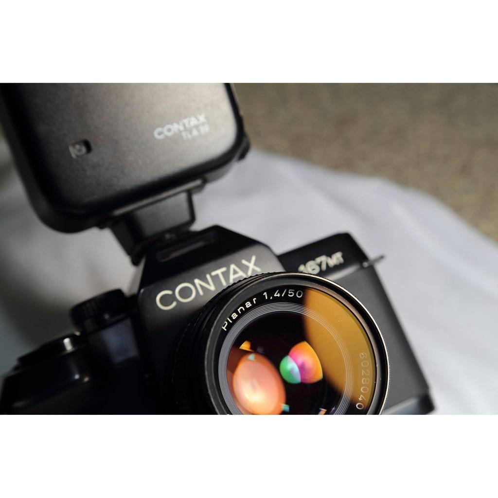 美品 Contax Planar 50mm F1.4  AEJ 帝王的逸品 鏡頭