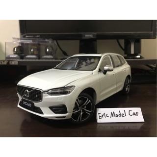 【E.M.C】1:18 1/ 18 原廠 Volvo XC60 T5 運動版 金屬模型車 台南市
