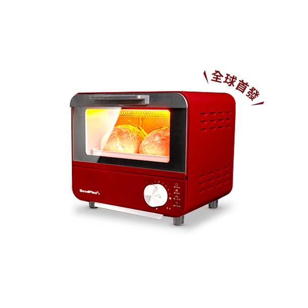全新 日本GOODPLUS+ 經典時尚電烤箱 家樂福 限量 特賣 復古 時尚 烤箱 高雄可面交