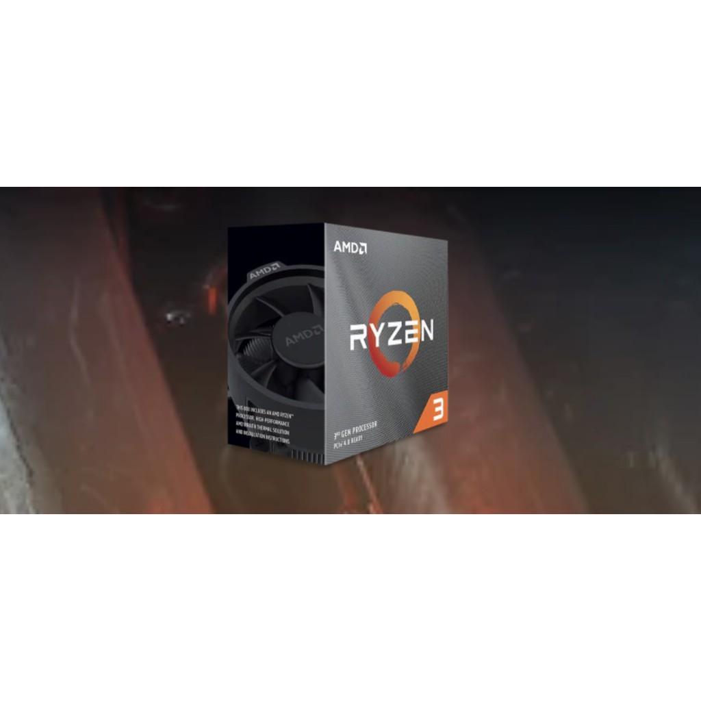 小跩便利店 AMD Ryzen 3 3300X 四核八緒 處理器