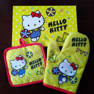 Hello Kitty三麗鷗 防燙手套 防燙鍋墊 全新 屏東縣