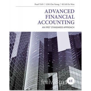 Advanced Financial Accounting An IFRS Standards 4th課本
