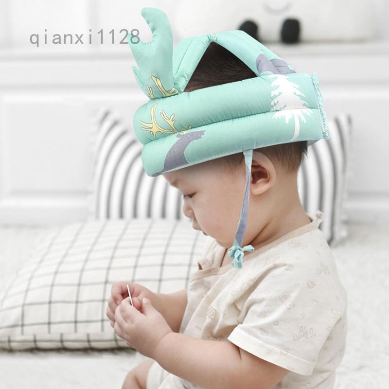 嬰兒防摔頭保護墊寶寶學走路兒童學步頭帽防摔折疊神器