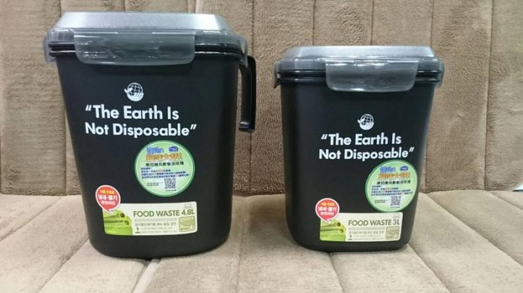 樂扣樂扣廚餘回收桶4.8L/密封廚餘桶 樂扣廚餘桶