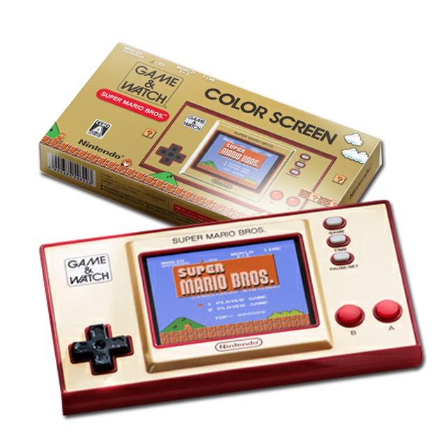 NS Switch GAME&WATCH 超級瑪利歐兄弟 迷你掌機 瑪利歐 35週年紀念特別版【就是要玩】
