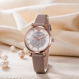 【有間小鋪】Emporio Armani女錶 亞曼尼晶鑽錶文青氣質鑽錶腕錶女士商務手錶 桃園市