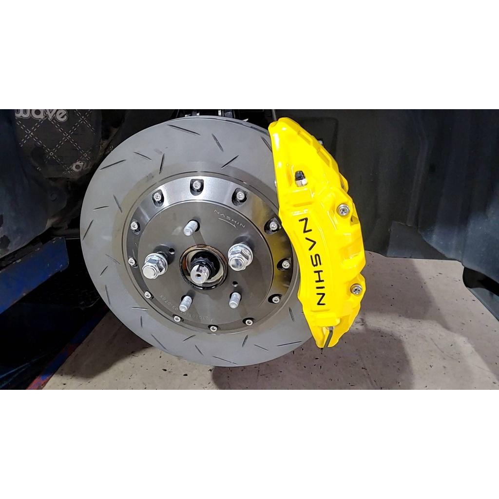 世盟 toyota corolla cross N5 前六 355 + N3R 後四 345 套組 黃色18吋 改裝鋁圈