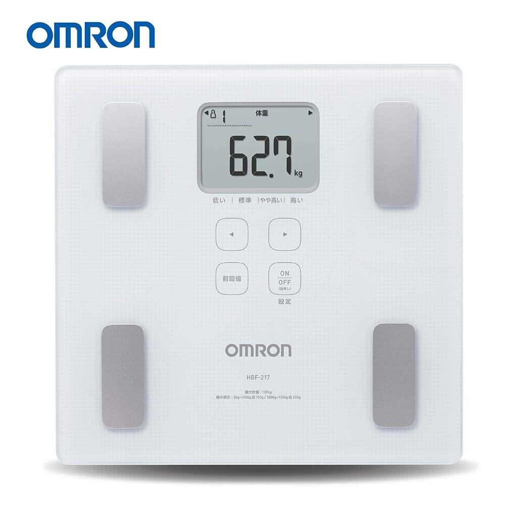 OMRON歐姆龍體重體脂計HBF-217 原廠公司貨【醫康生活家】