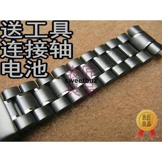限時下殺📍適用卡西歐EQW-T620C T630 MTP-1374黑鋼帶 表鏈 表帶 手表配件
