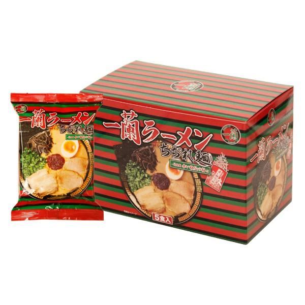 [2周寄出]日本一蘭拉麵 禮盒 一蘭 泡麵 拉麵 一盒5入 捲麵