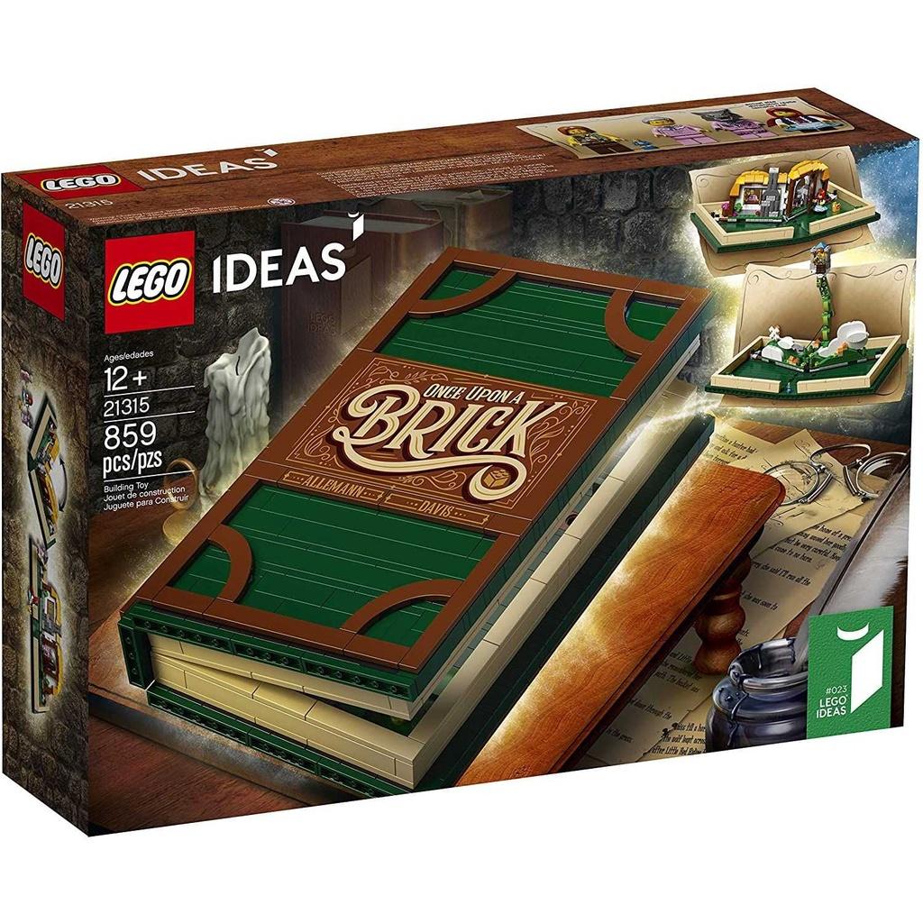 正品樂高 21315 LEGO 拼裝積木玩具 Ideas 想象系列 立體書