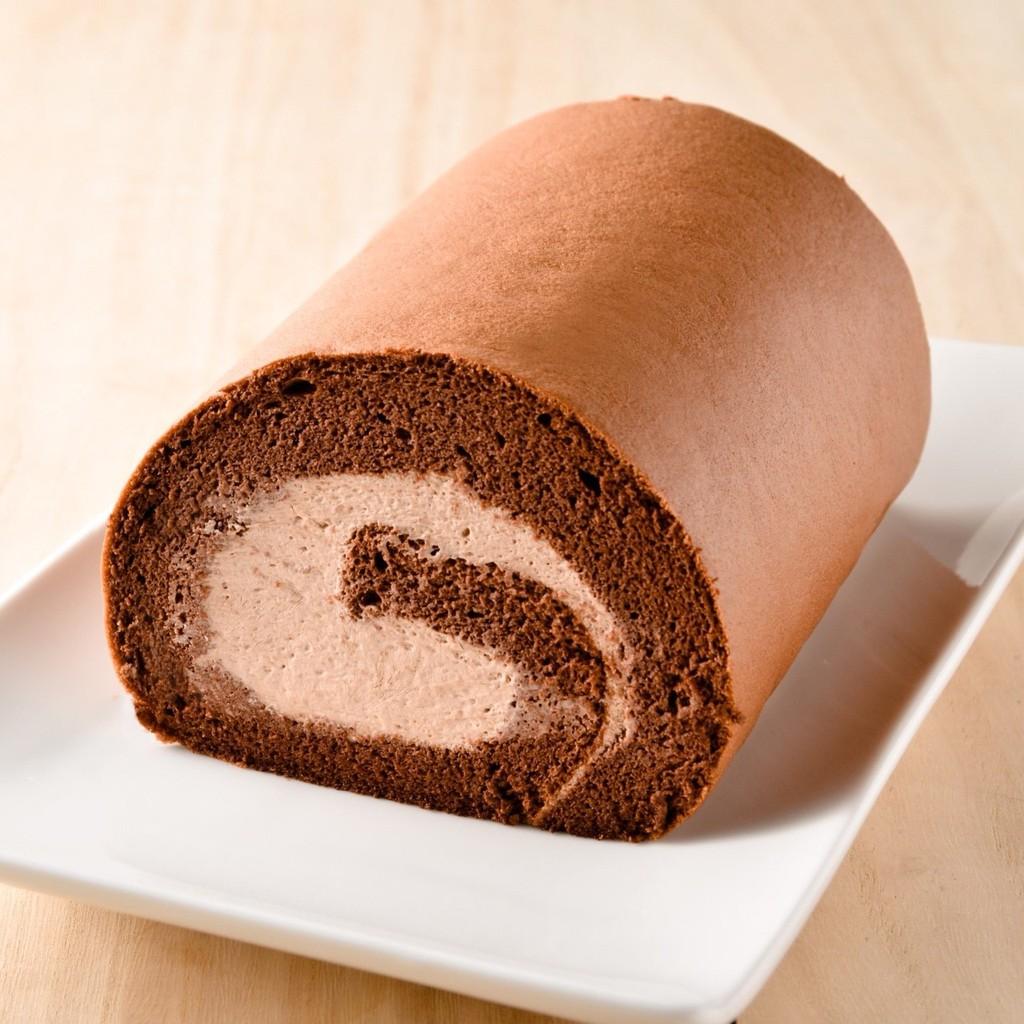 [久久津乳酪] 冰淇淋生乳捲-巧克力
