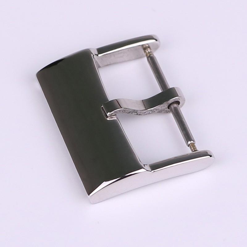 代用百年靈Breitling手表表扣 316精鋼 皮膠帶針扣