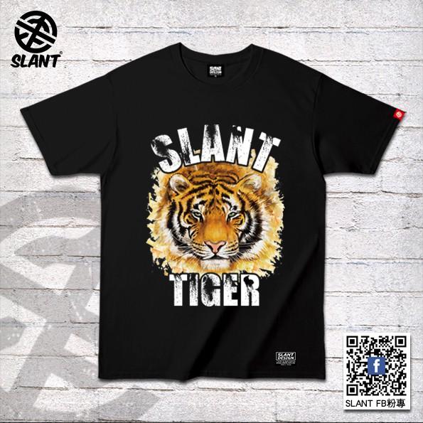 SLANT 老虎圖樣 短袖T恤 TIGER 純棉短袖T恤 潮流T恤 老虎T恤 TIGER T恤 動物T恤 多色可選