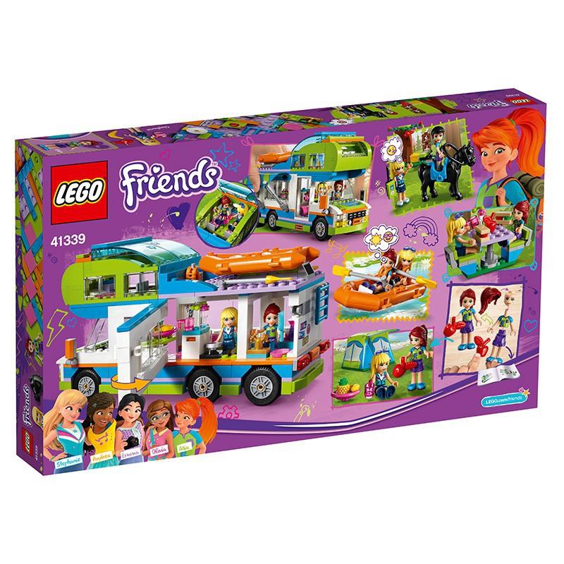 ✷♛❀【宋】樂高好朋友系列41339米婭的野營車 LEGO Friends兒童女孩積木玩具