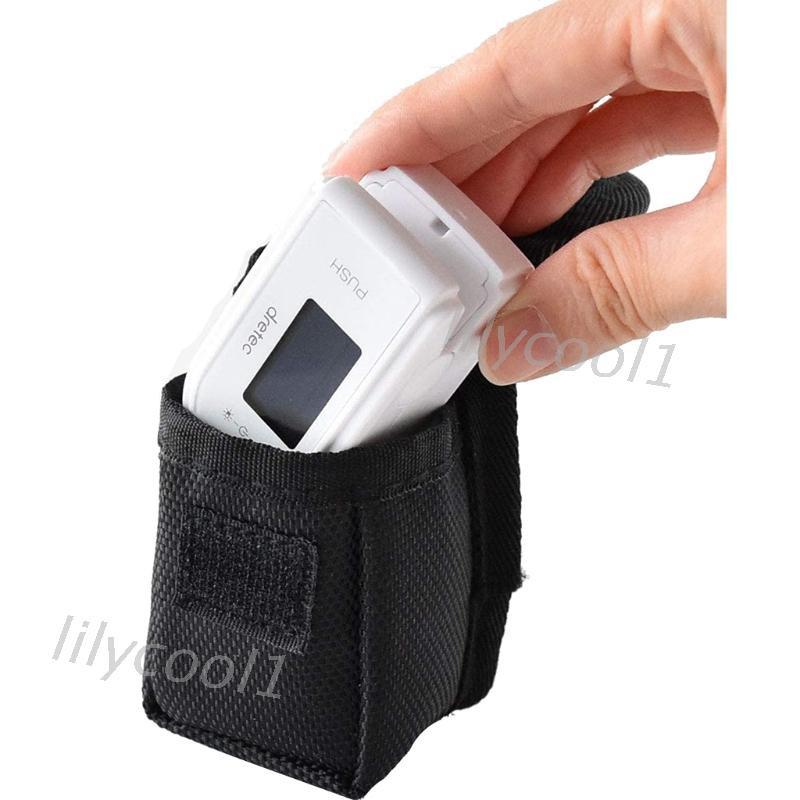 LILY/ 存儲袋組織器保護套便攜式用於指尖血氧儀監測器